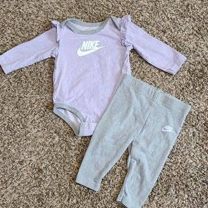 Nike Body Suit and Matching Legging Outfit 6M